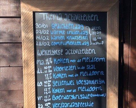 Programma Stadsboerderij Zimmerhoeve